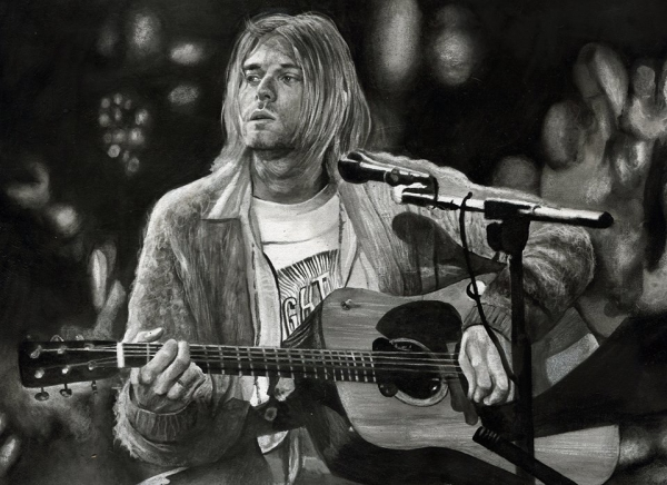 Kurt Cobain par boonie1974